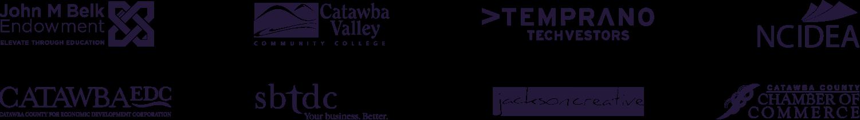 NC Catawba Partner Logo Layout