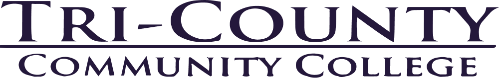 NC Tri-County Community College Logo- Black-1000px