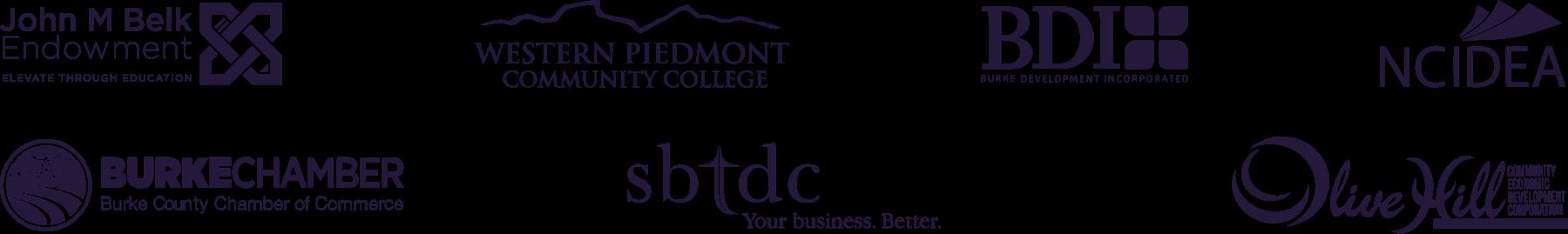 NC Burke Partner Logo Layout